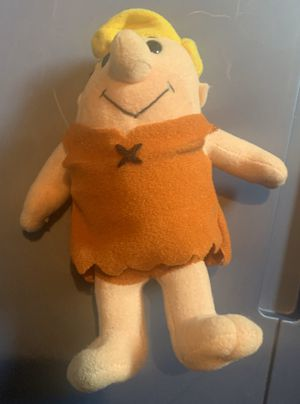 6 inch Barney Rubble Plushie for Sale in Seattle, WA