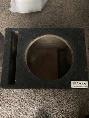 "12"" Subwoofer box for Sale in Atlanta, GA"