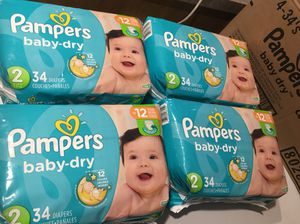 Pampers size 2 diapers for Sale in Roseville, MN