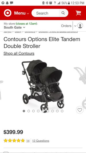 Contours Options Double stroller for Sale in South Gate, CA