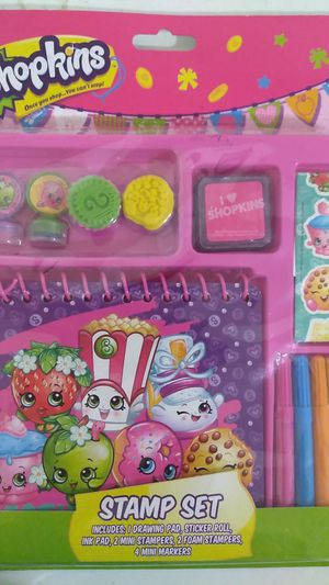 New in box Shopkins stamp set for Sale in Tracy, CA