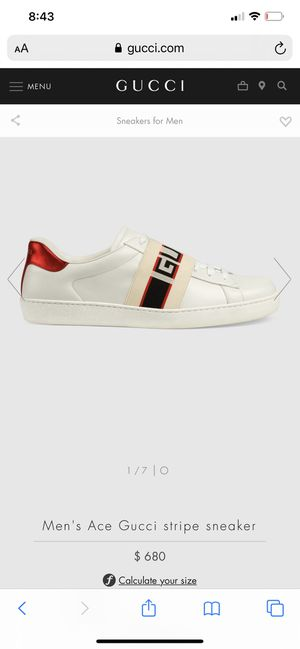 Gucci new sneaker for Sale in Shadow Hills, CA