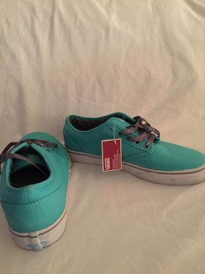 Teal-and-White Vans Authentic's for Sale in Bronx, NY