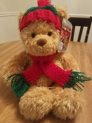 Gund Heads and Tales Teddy Bear w/Scarf Medium Plush Super Soft And Cuddly for Sale in Oregon City, OR