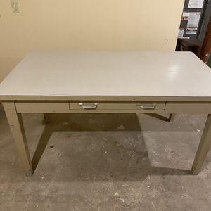 Steel Desk / Work Area for Sale in Wallingford, CT