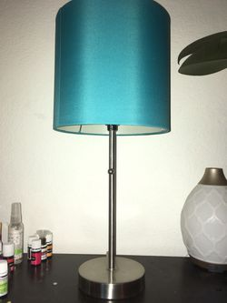 Turquoise Stick Lamp for Sale in Puyallup,  WA