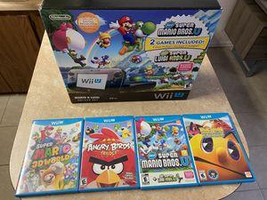WiiU 32GB + 5 games for Sale in Lakeland, FL