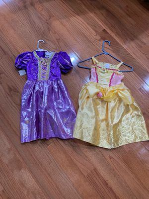 Tangled and Beauty and the Beast princess play dresses for Sale in Springfield, VA