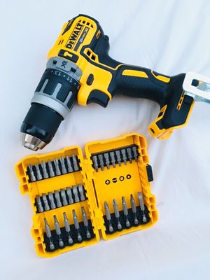 New DeWalt XR Hammer Drill with Bits for Sale in Modesto, CA