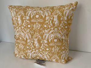 Block print Bunny Pillow for Sale in Mechanicsville, VA