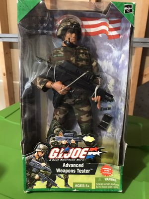 GIJoe advances weapons tester action figure, box not in perfect condition for Sale in Mableton, GA