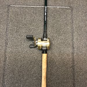 "Shimano Calcutta 201B W/ Shimano Crucial 7'6"" Deep Cranking Rod for Sale in Renton, WA"