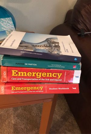 4 textbooks for Sale in Bradenton, FL