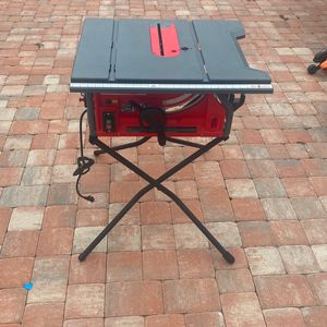 CRAFTMAN TABLE SAW for Sale in Plant City, FL