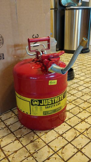Justrite metal gas can for Sale in Trinity, FL