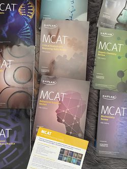 Kaplan MCAT books for Sale in Lafayette Hill,  PA