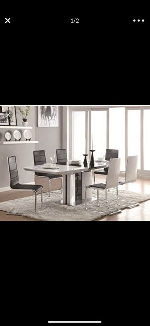 Dining table with eight chairs for Sale in Vancouver, WA