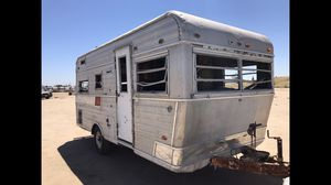 Mini Holiday traveler trailer needs restoration we can provide for Sale in Fresno, CA