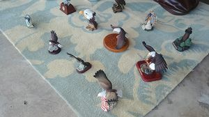 Eagles plates and statues collections collectable for Sale in Costa Mesa, CA