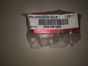 Boa 93674-102 Freightliner AC R134A Expansion Valve for Sale for sale  Grand Prairie, TX