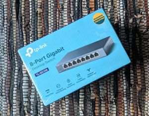 TP Link 8-Port Gigabit Desktop Switch TL-SG108 for Sale in District Heights, MD