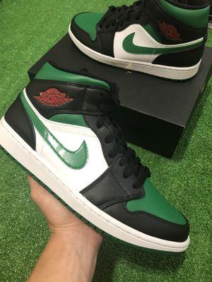 Jordan 1 Mid Pine Green Toe for Sale in Milwaukee, WI