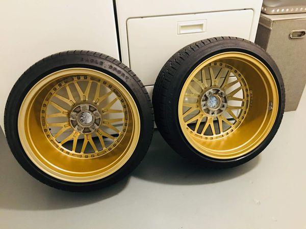 JNC 005 18X10+22 GOLD MACHINED LIP