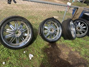 26in rims for Sale in Hewitt, TX