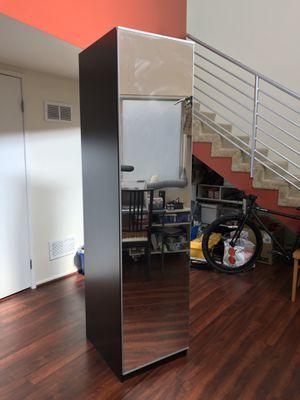 Ikea PAX Wardrobe Closet with Mirror Door for Sale in Pasadena, CA