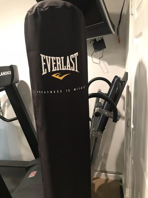 Everlast floor standing punching Bag hurry for Sale in West McLean, VA