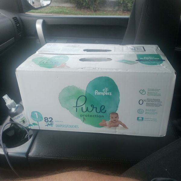 Pampers Pure Protection Size 1 82 Super Pack