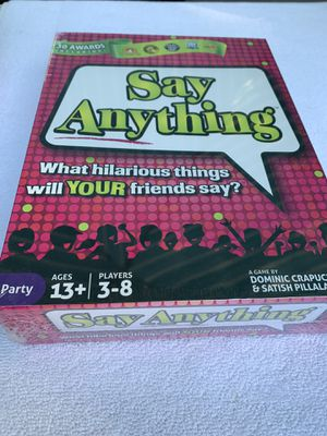 Board game say anything for Sale in Los Angeles, CA