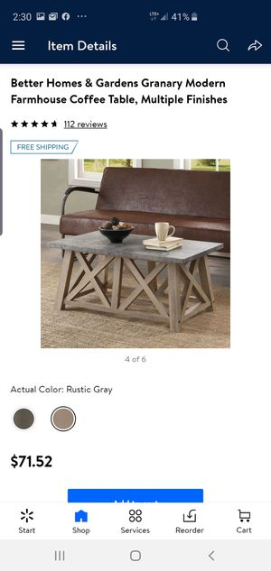 Coffee table for Sale in Vernon, CA