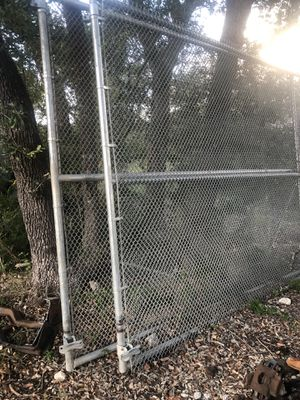 Large galvanized gates $200 both for Sale in San Antonio, TX