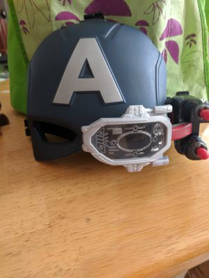 Captain America toy mask for Sale in Lincoln, RI
