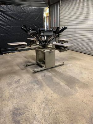 6 color 4 station used and a brand new in box 20/24 vacuum exspoure unit never been used for Sale in San Antonio, TX
