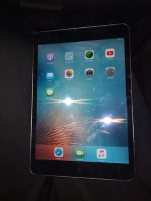 mini iPad with charger idk what gen it is for Sale in Houston, TX