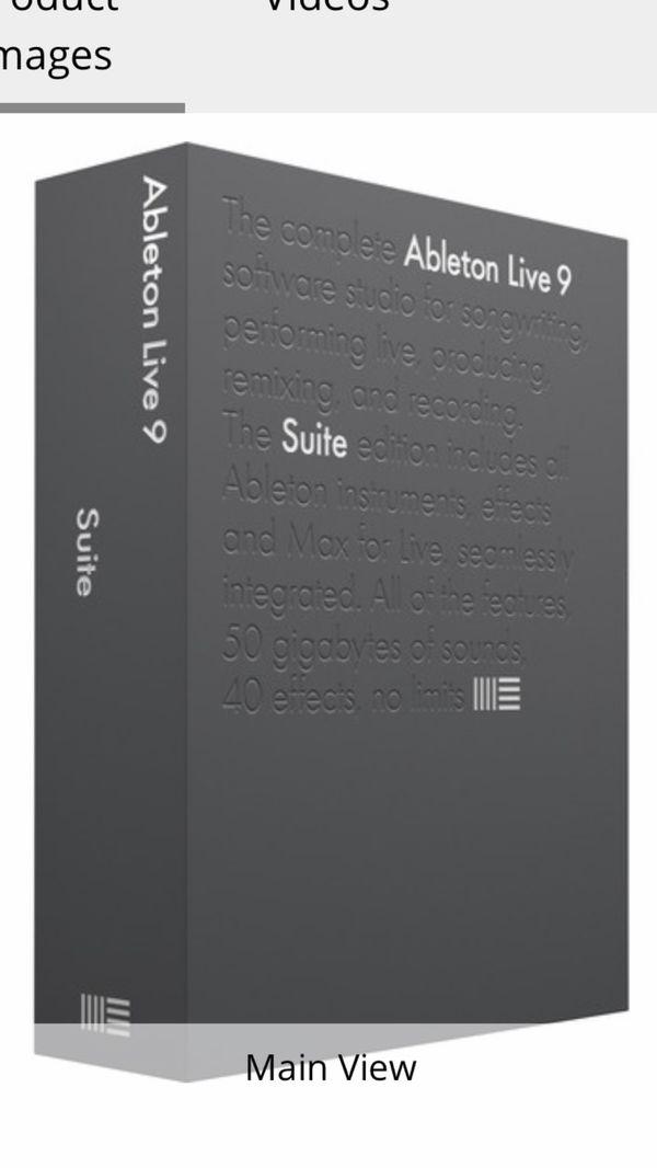 Ableton live 9 suite - 250
