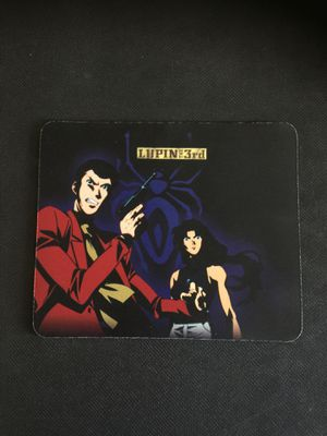 Lupin the 3rd vibrant colorful computer desktop laptop mouse pad for Sale in Azusa, CA
