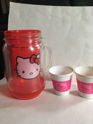 HELLO KITTY PRETEND MUG AND CUP SET for Sale in New Castle, DE