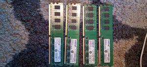 4X Premium 2GB DDR2 800MHZ Crucial RAM for Sale in Montgomery, AL