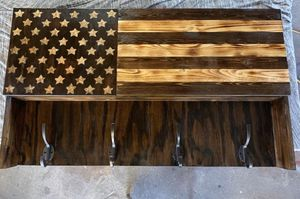 Coat rack with concealment area for Sale in Fort Meade, FL