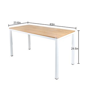 White Computer Desk 63 inches for Sale in Brooklyn, NY