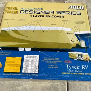 "28'7""—31'6"" DU PONT All Climate 3 Layer RV Cover for Sale in Winchester, CA"
