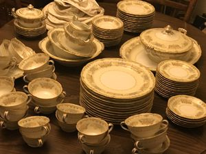 90 Piece Antique China Dish Ware Set for Sale in St. Louis, MO