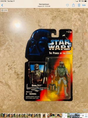 Boba Fett Star Wars action figure New sealed for Sale in Germantown, MD