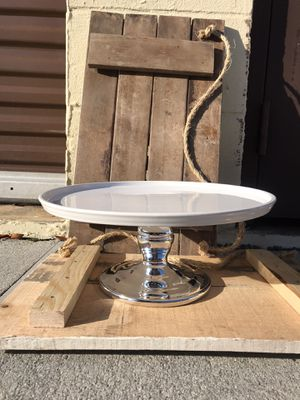 Large cake stand for Sale in Virginia Beach, VA