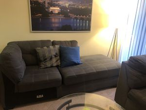 Ashley Sectional with coffee Table, 2 end tables, and two lamps for Sale in Silver Spring, MD