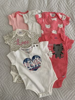 Baby Onesies (6-9 months) for Sale in West Covina, CA