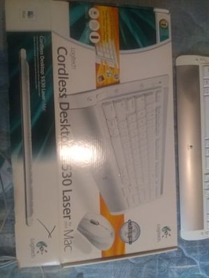 Mac Logitech Wireless Keyboard and Mouse for Mac for Sale in Overland Park, KS